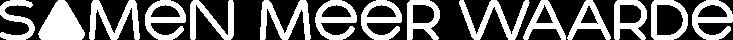 samen meer waarde - logo wit